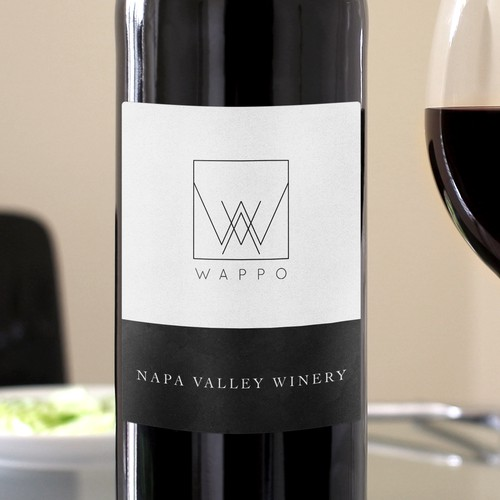 California brand with the title 'Logo and Branding for a Winery'