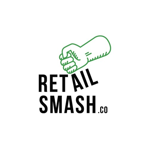 Arm design with the title 'Logo for Retail Smash'