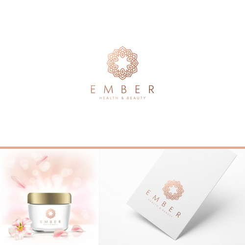Aesthetic logo with the title 'Discover Ember™ logo Design !'