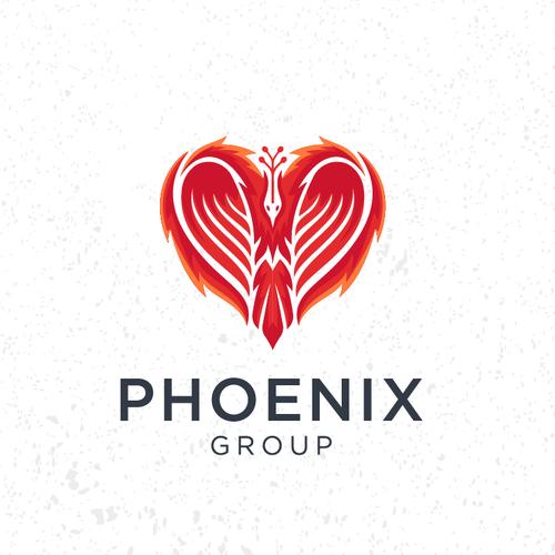 Phoenix brand with the title 'phoenix heart'