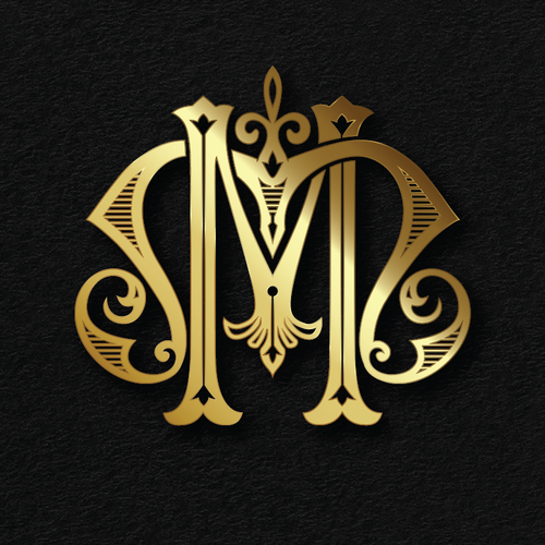 Wealth logo with the title 'M+M monogram for sale'
