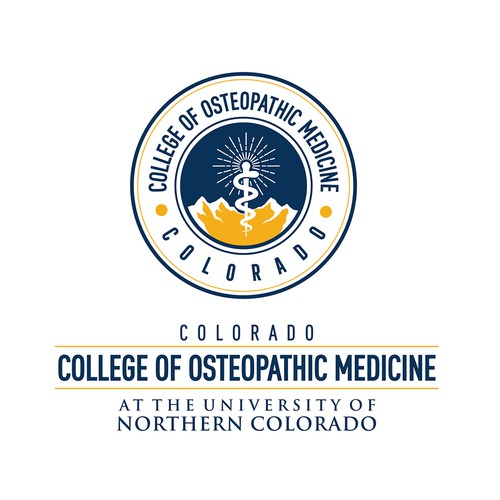 College logo with the title 'College Of Osteopathic Medicine'