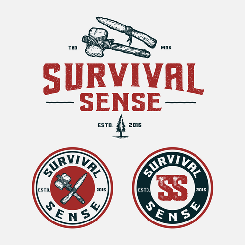 Toolbox logo with the title 'Survival Sense'