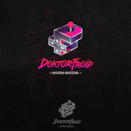 Arcade design with the title 'DoktorFroid'
