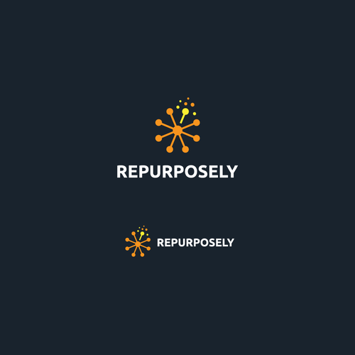 Awesome design with the title 'Iconic logo for REPURPOSELY '