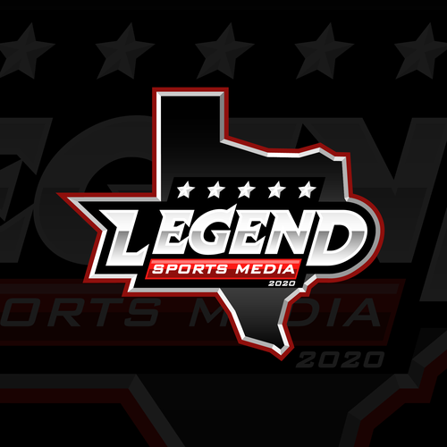 Legendary logo with the title 'Legend Sports Media'