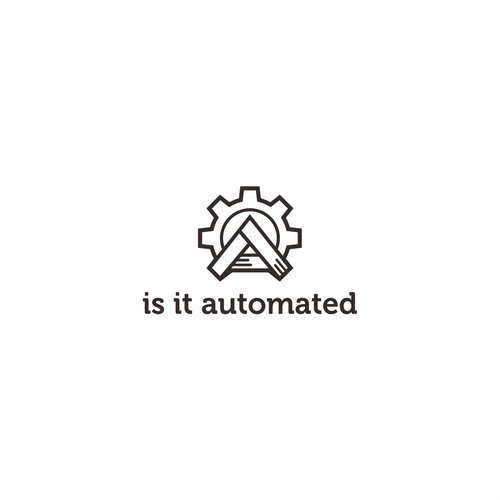 Automation design with the title 'Winning design in logo contest Quality assuring logo for a web test automation service professional'