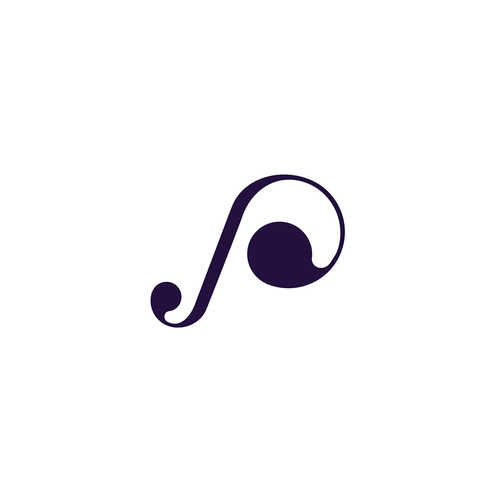 P logo with the title 'Music App'