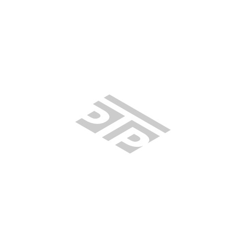 Isometric logo with the title 'Tennis Court Logo'