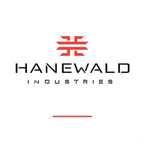 Game controller logo with the title 'Hanewald'