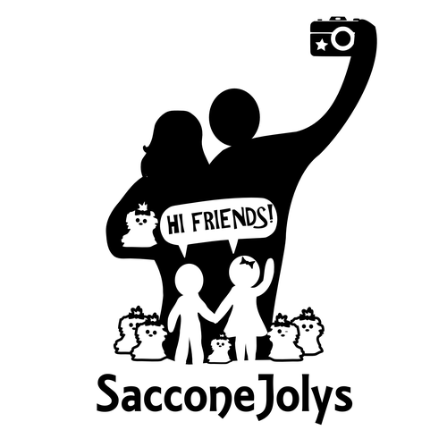 Vlog logo with the title 'The SacconeJolys'