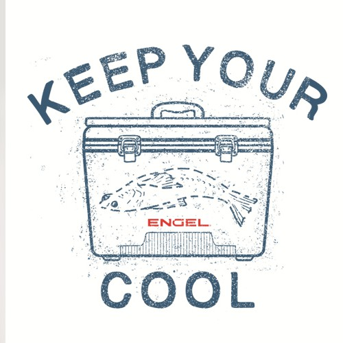 """Outdoor t-shirt with the title 'Promo T-shirt Design for a """"ENGEL"""" Coolers brand'"""