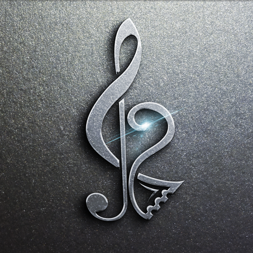 Zumba logo with the title 'Logo for music tickets app'