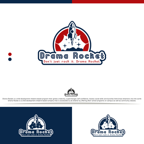 Opera logo with the title 'Drama Rocket Designs Concept'