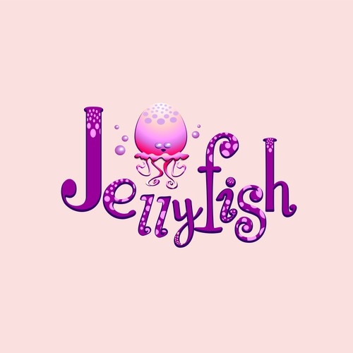 Jelly design with the title 'playful Jellyfish incorporated'