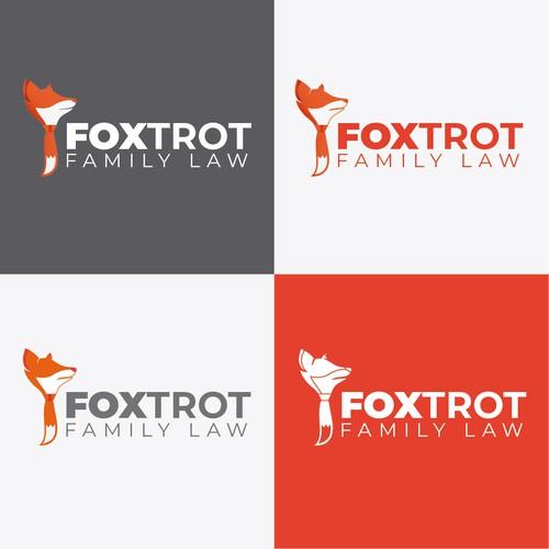 RGB design with the title 'Logo Fox Abogados'