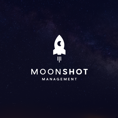 Universe design with the title 'Moonshot Management'