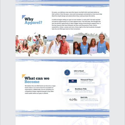 Live well pitch deck