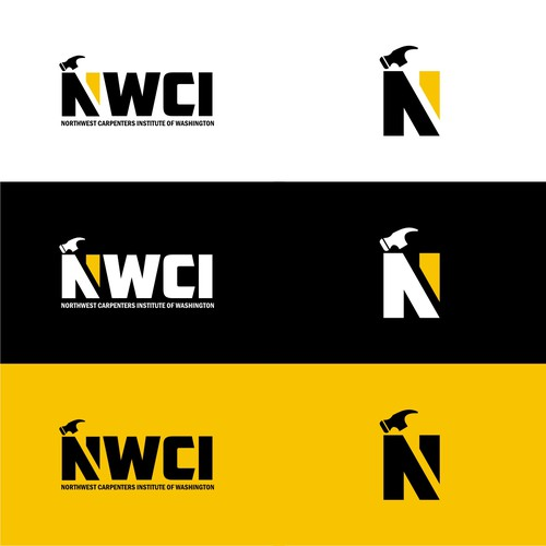 Iconic brand with the title 'Logo Concept for NWCI'
