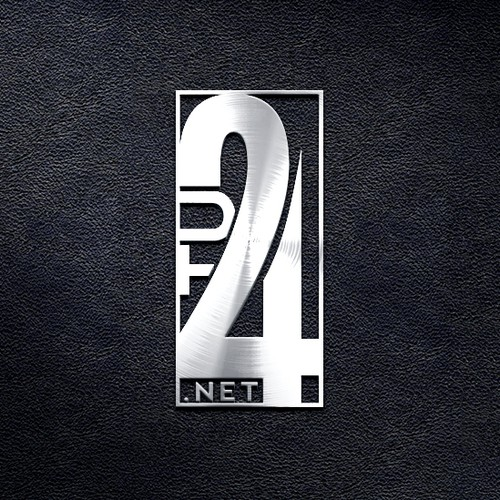 Online store logo with the title 'Logo design for TU24.net'
