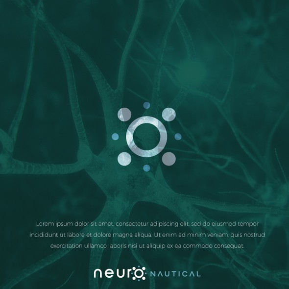 Neuroscience logo with the title 'Health Website Logo'