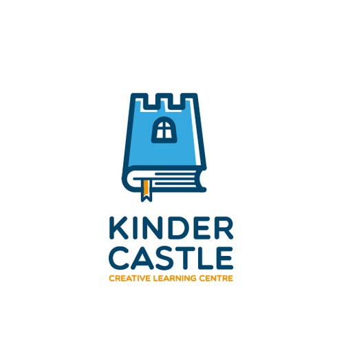 Castle logo with the title 'Kinder Castle needs a new logo'