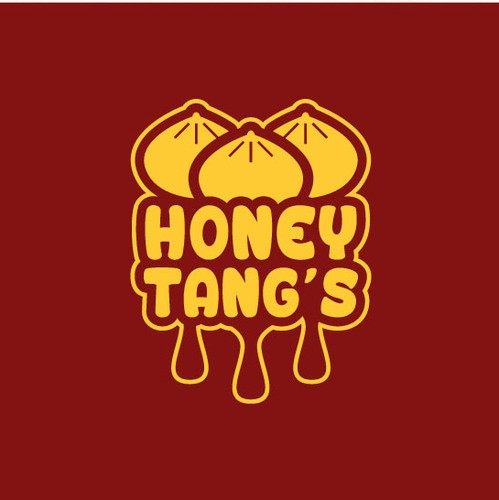 Chinese food design with the title 'Honey Tang's'