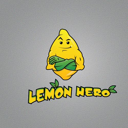 Figure logo with the title 'Lemon Hero'