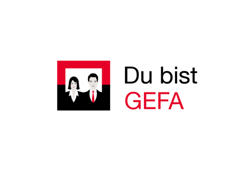 "Bank logo with the title '""You are GEFA"" - Foster Employee Loyalty 