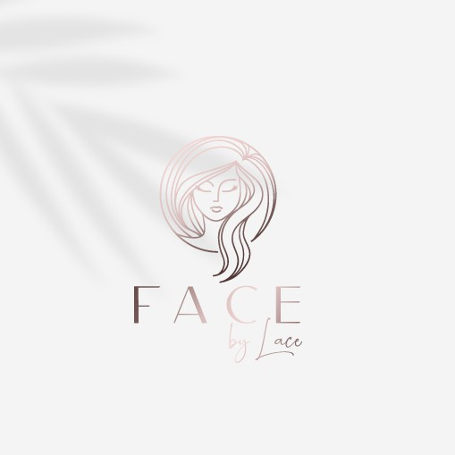 Skin care design with the title 'Face By Lace'