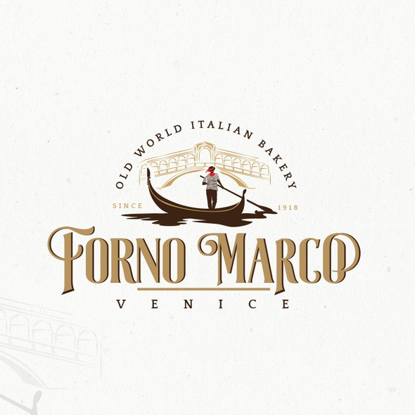 Italian design with the title 'Elegant logo for an Italian themed business'