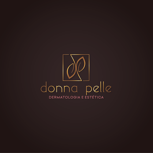 Aesthetic logo with the title 'Logo  for Donna Pelle'