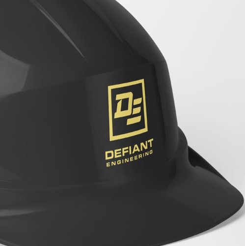 Utility logo with the title 'Defiant Engineering - Logo Design'