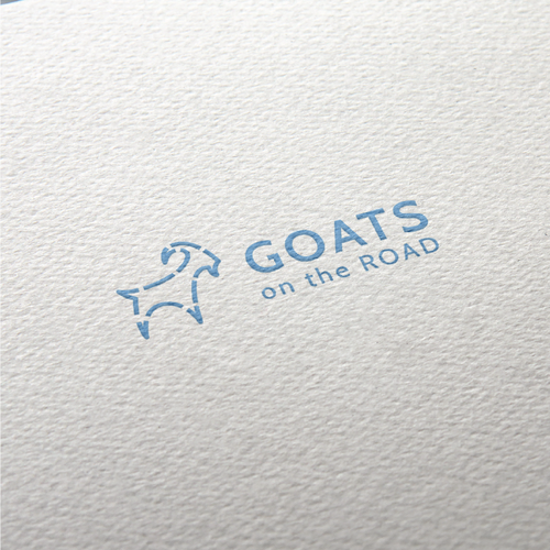 Road logo with the title 'Goats on the Road'