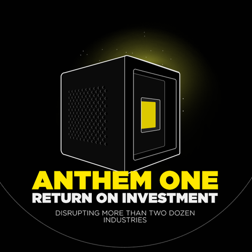 Yellow and black design with the title 'Return on Investment'