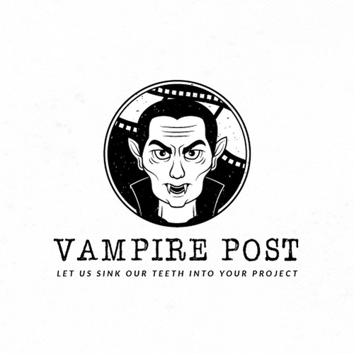 Thriller logo with the title 'Logo for Vampire Post'