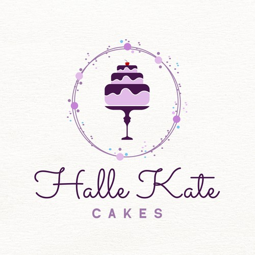 Delicious logo with the title 'Logo design concept for a young girl in the cake industry'
