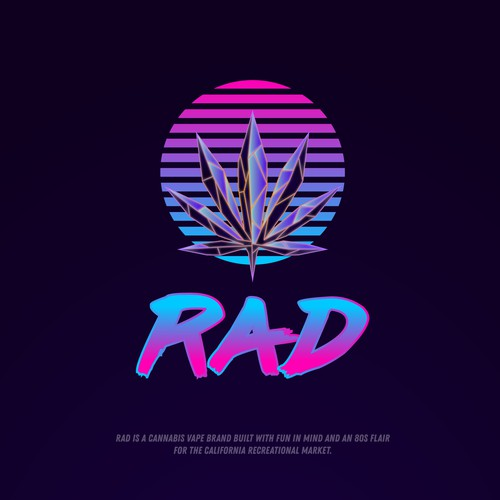 High-tech design with the title 'RAD'