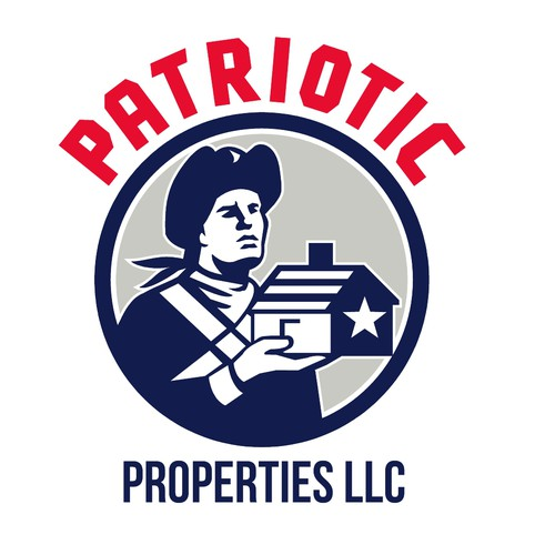 Patriot design with the title 'Patriotic Properties LLC'