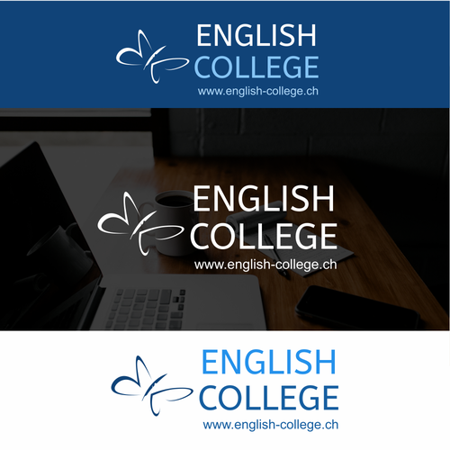 Campus design with the title 'Logo proposal for English College'