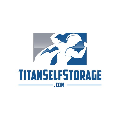 Titan logo with the title 'TitanSelfStorage'