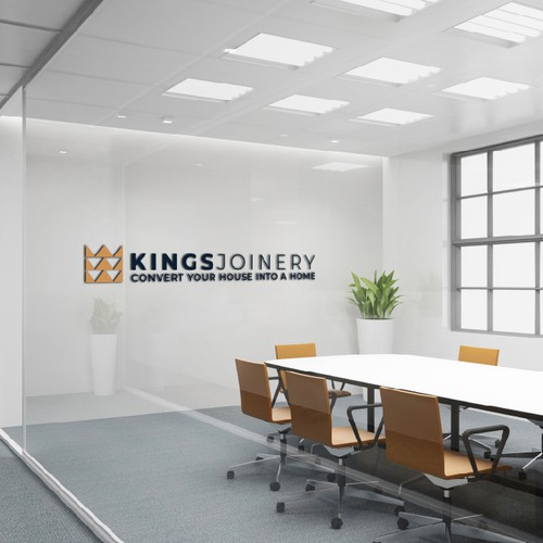 King brand with the title 'Kings Joinery'