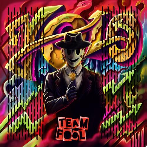 Computer artwork with the title 'AFoolAndHisMoney'