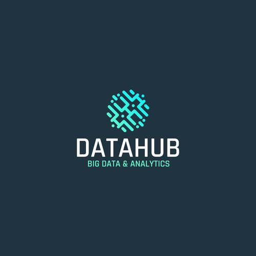 Hub logo with the title 'Logo forr Tech Startup'