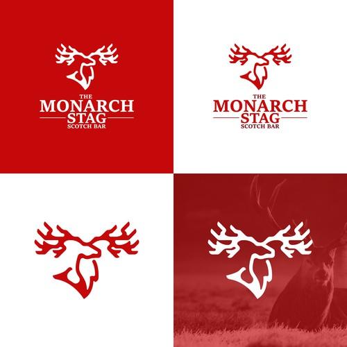 Elk logo with the title 'Monarch Elk Logo'