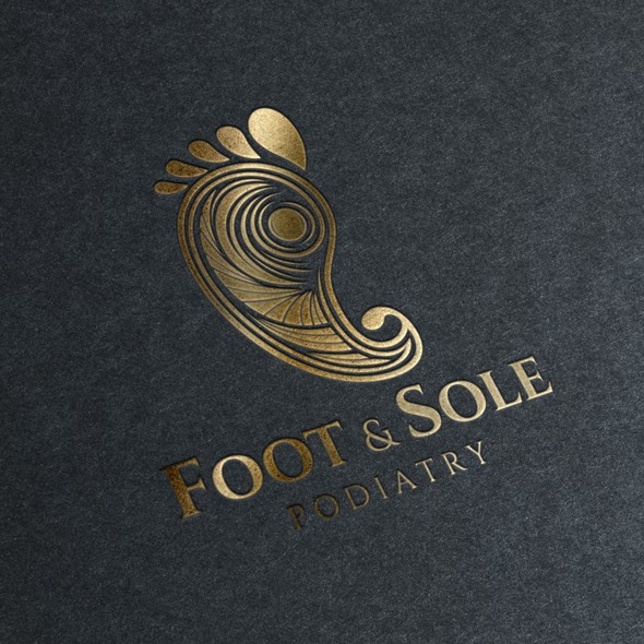 Podiatry logo with the title 'FOOT & SOLE PODIATRY'
