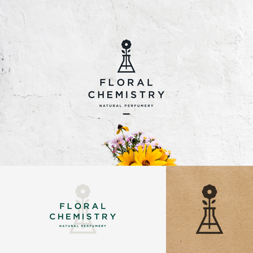 Nature logo with the title 'Floral Chemistry '