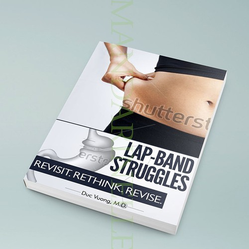 Weight-loss book cover with the title 'Help change lives by creating a book cover for a weight loss surgery book!'