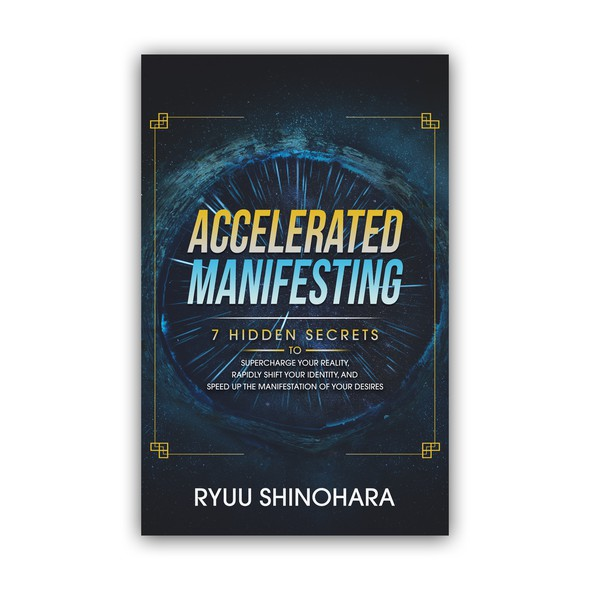 Speed design with the title 'Accelerated Manifesting'