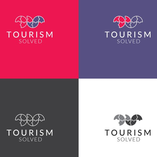 Tourism brand with the title 'Tourism '